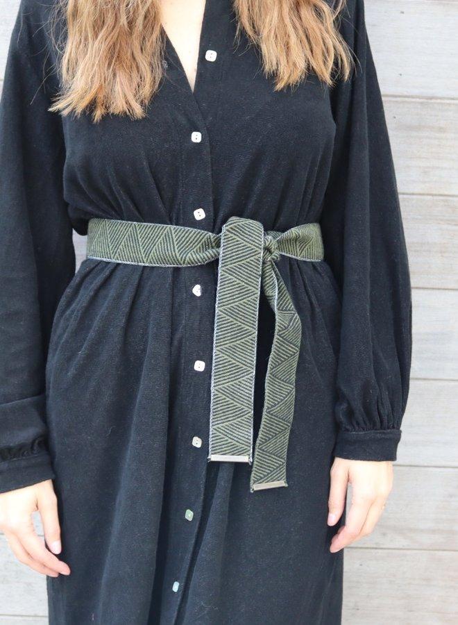 Terry dress Louelle black
