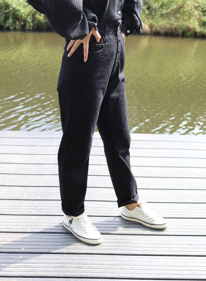 Slouchy jeans black