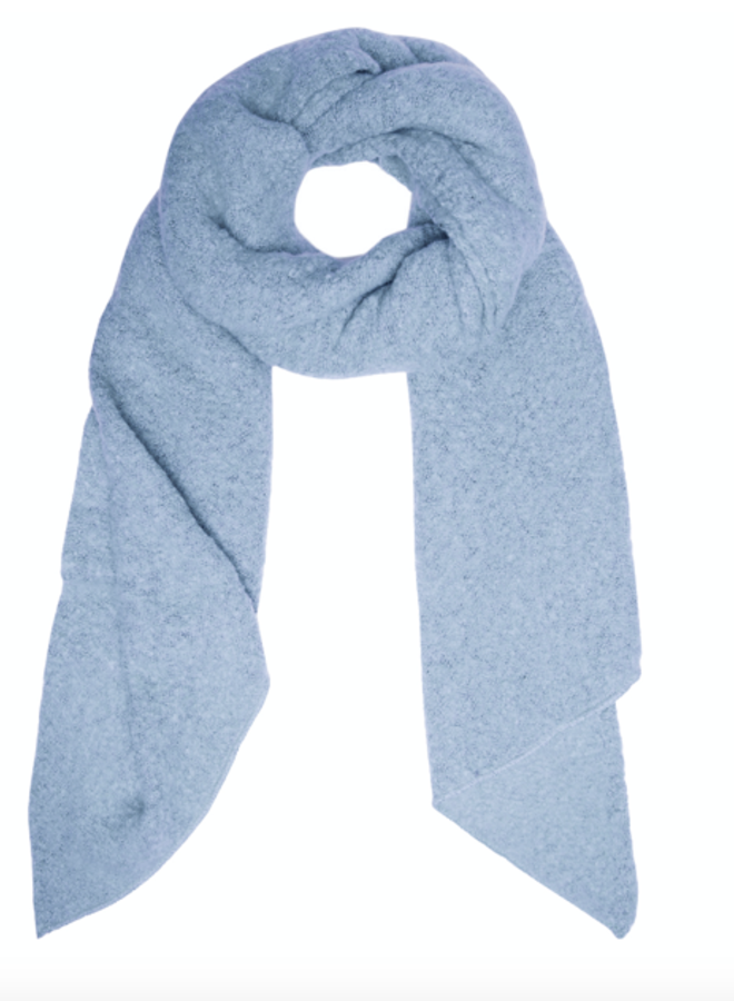 Scarf Camille ice blue