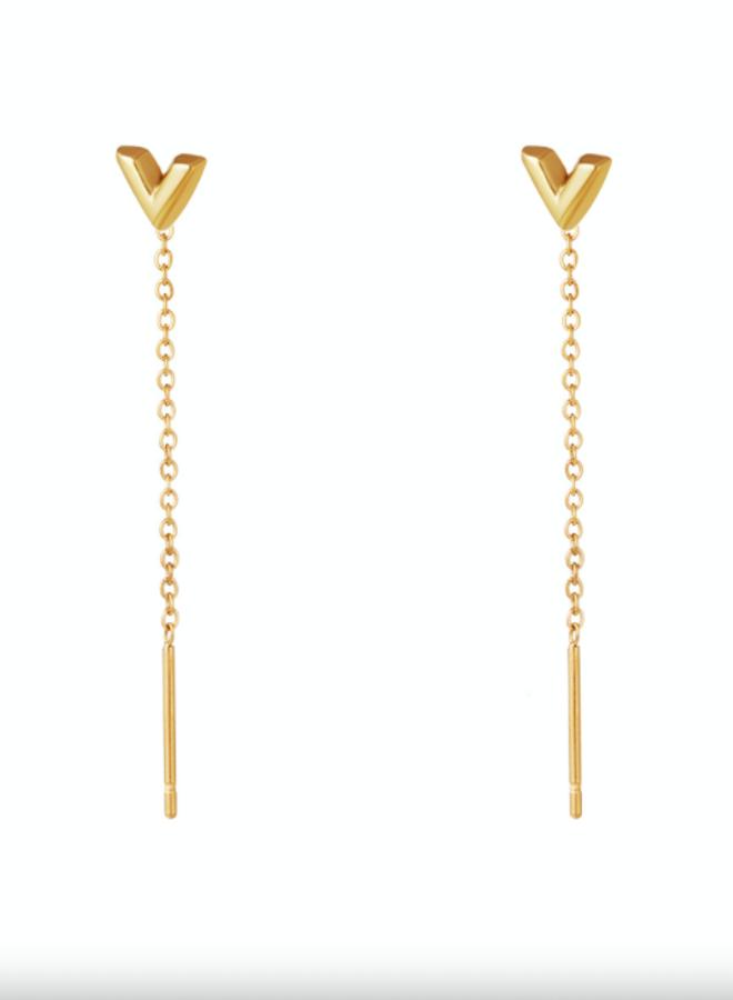 Earrings arrow