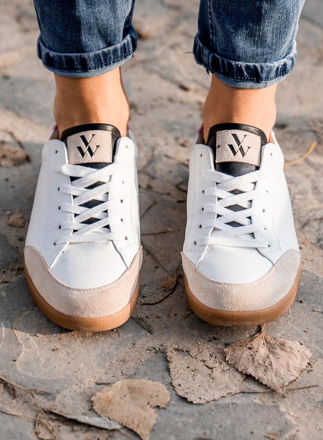 Sneakers camel/rose
