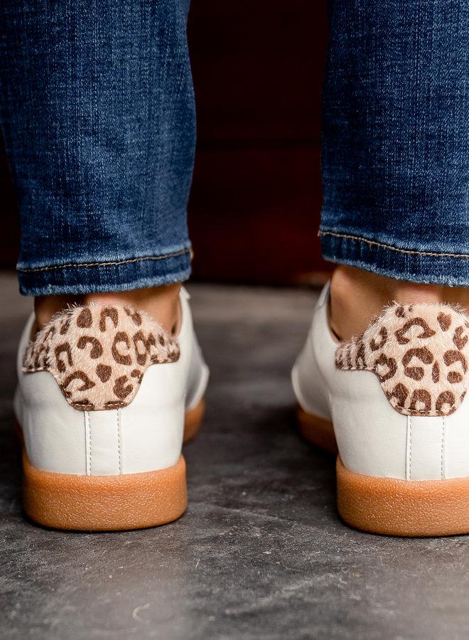 Sneakers camel/bronze