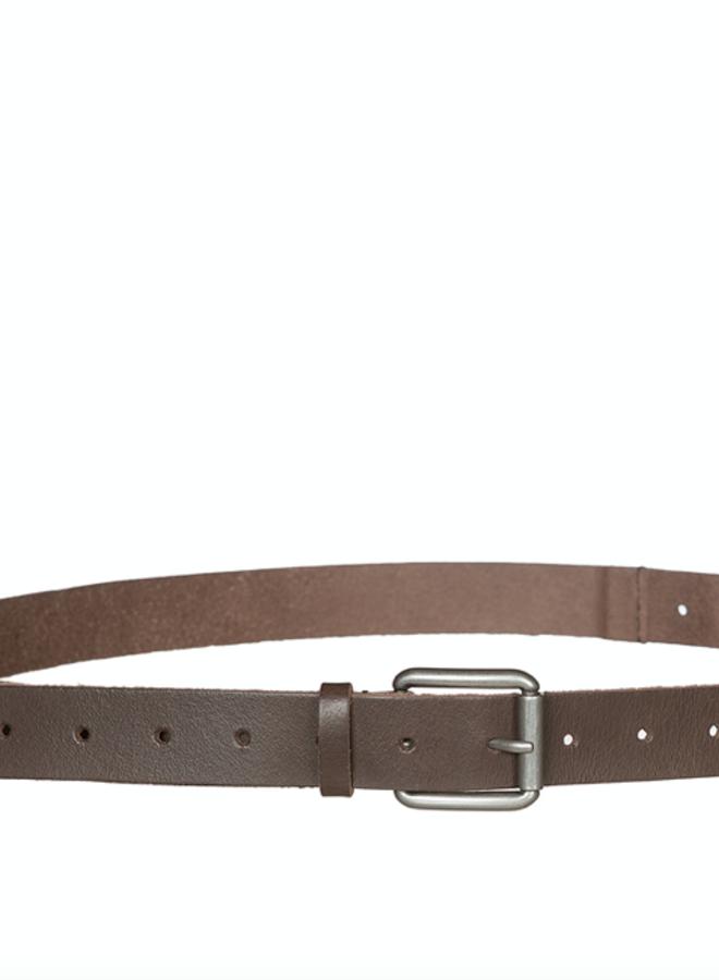 Alex leather belt brown TU