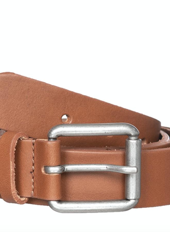Alex leather belt cognac TU