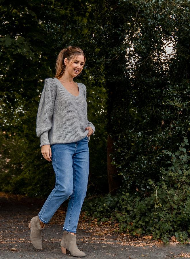 Cilou knit grey