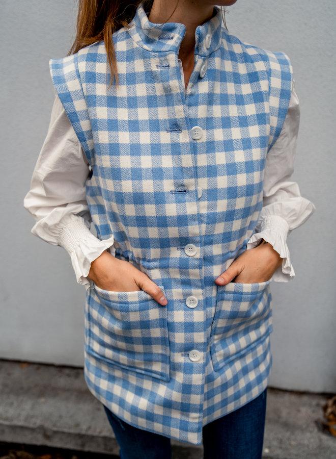 Yasmathilda waistcoat blue