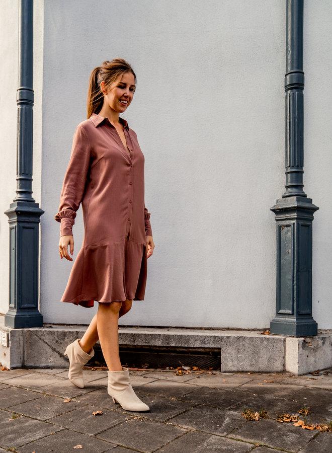 Yasjayda  dress cognac