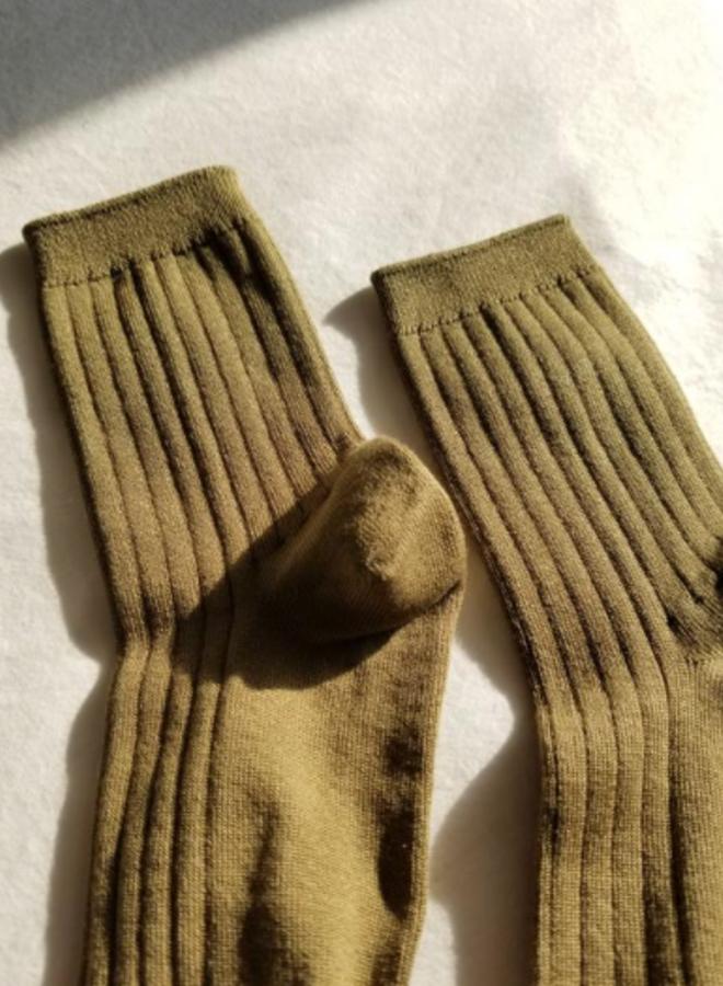 Her socks Pesto