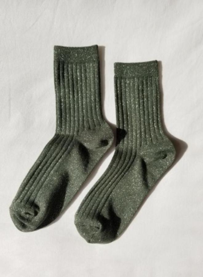 Her socks Pine Glitter