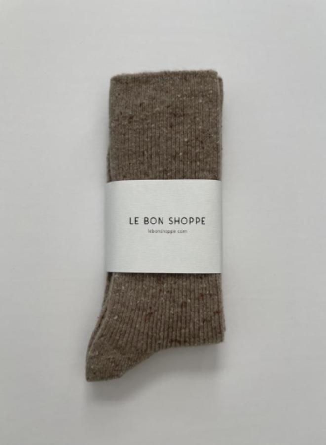 Snow socks Tan