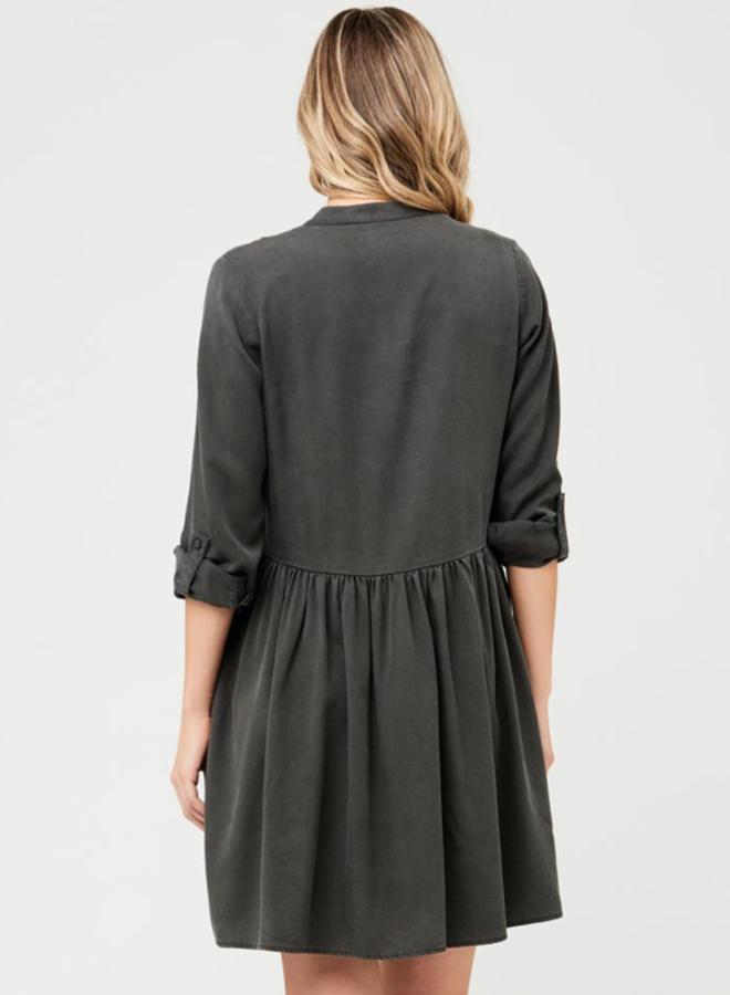 Demi tencel dress olive