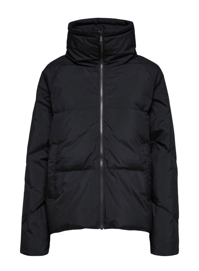 Slfdaisy down jacket black