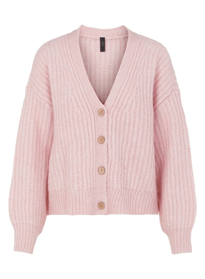 Yassudana cardigan chalk pink