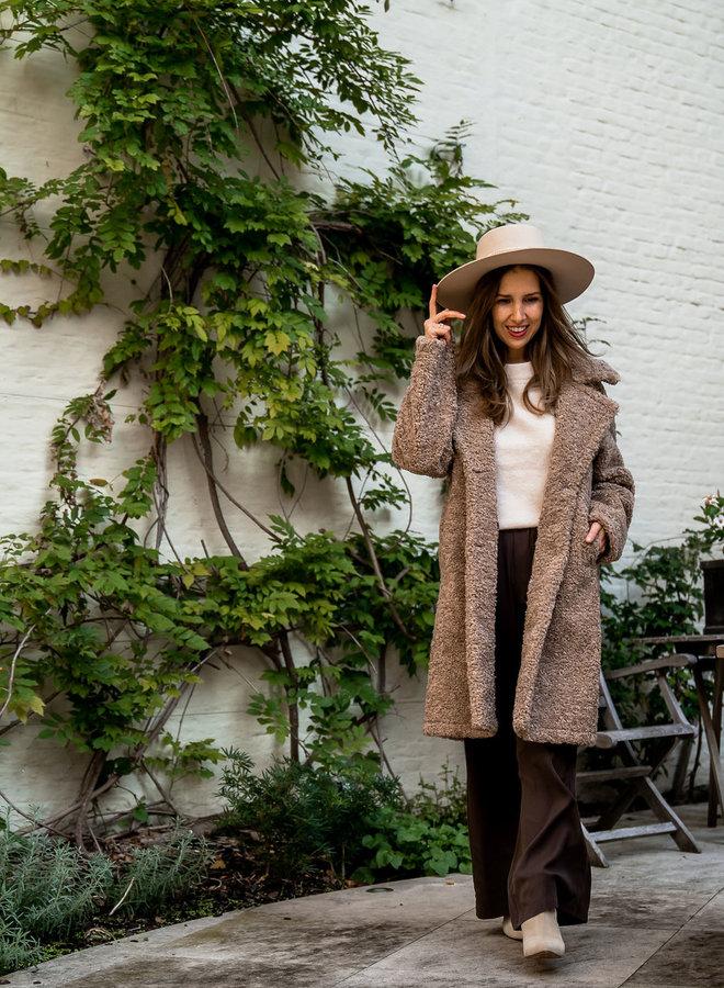 Coat Maxime taupe