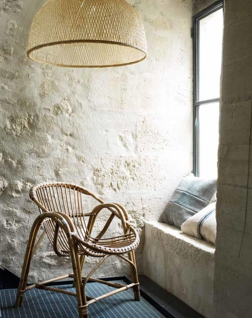 Ay Illuminate Lámpara de techo de bambú M1 - Natural - Ø75 cm - Ay iluminate
