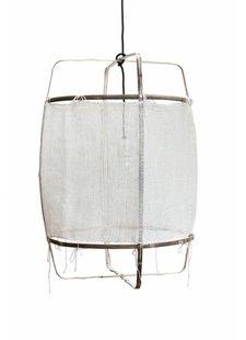 Ay Illuminate Lámpara de techo de bambú y cachemire - 48.5cm Ø - Z11 blanco - Ay iIluminate