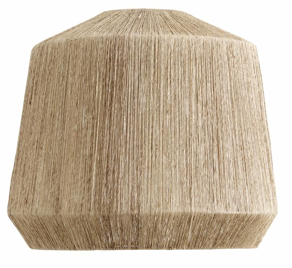Nordal Lampara de yute - Ø44xh50cm - Nordal
