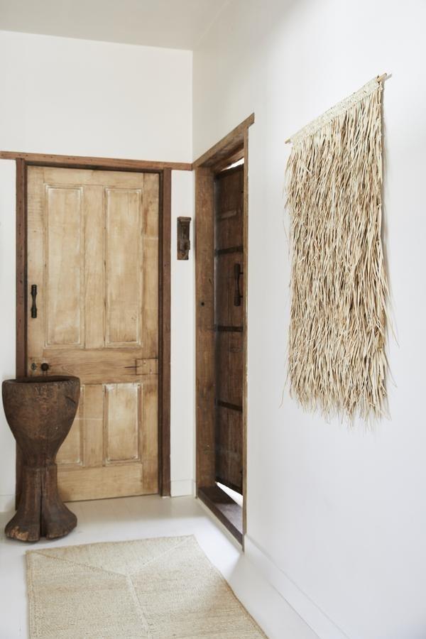 The Dharma Door Colgadura Tala de flecos de palma - Natural - 65xh95cm - The dharma door