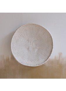 Petite Lily Interiors Cesta de pared Tonga - blanca - Ø41-45cm