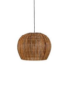 Ay Illuminate Lámpara Bell Buri de mimbre - natural - Ø63xh47cm - Ay Illuminate