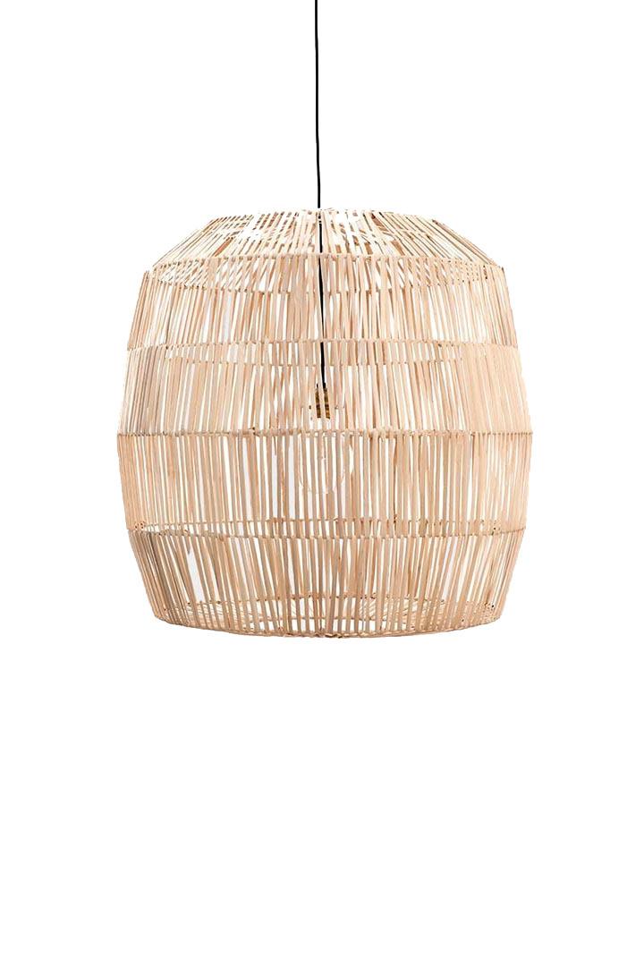Ay Illuminate Lámpara de ratán Nama 5 - natural - Ø78xh78 - Ay Illuminate