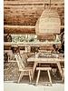 Petite Lily Interiors Taburete de Madera de olmo - 10x34xh46cm - natural - pieza única