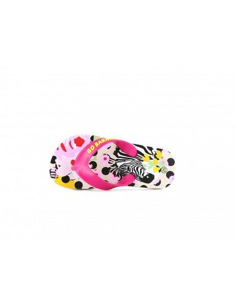 GO BANANAS (SHOESME) GO BANANAS slippers ZEBRA