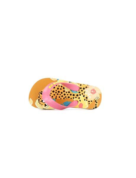 GO BANANAS (SHOESME) GO BANANAS slippers LEOPARD