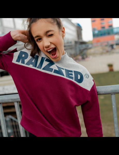 Raizzed Raizzed sweater MADRAS bordeaux red