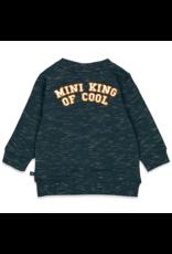 Feetje Feetje sweater King of Cool marine melange