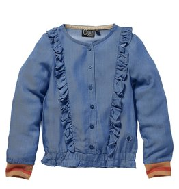 Quapi Quapi blouse KARIN blue sky