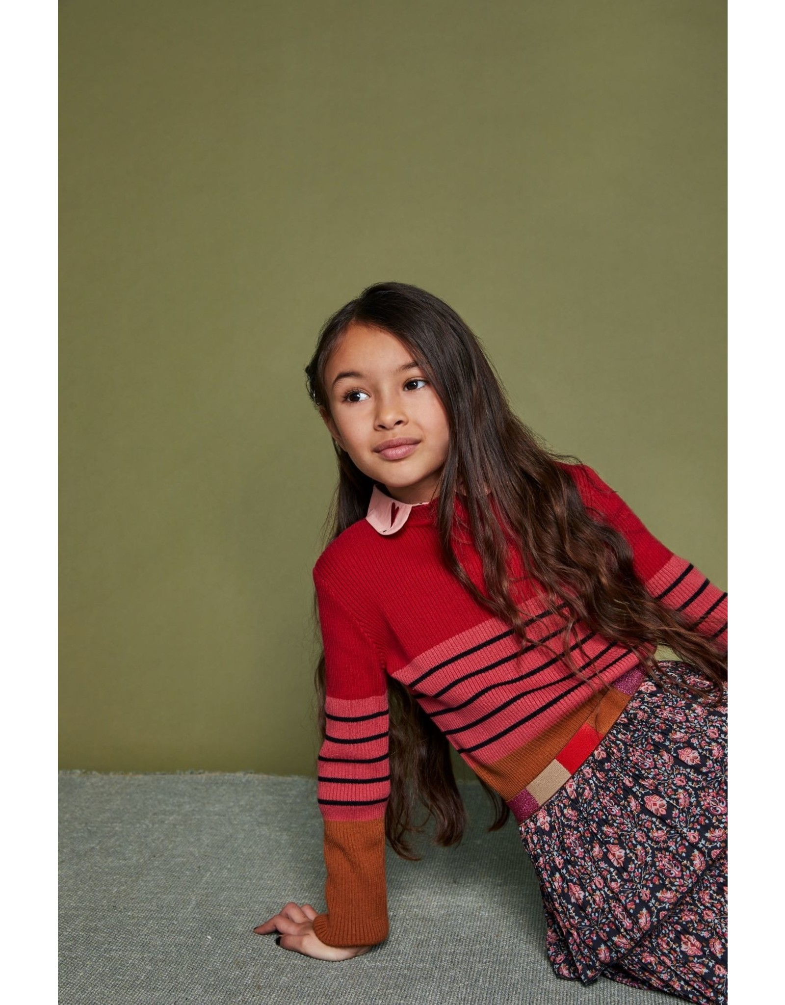 Nono NONO sweater 5311 caramel
