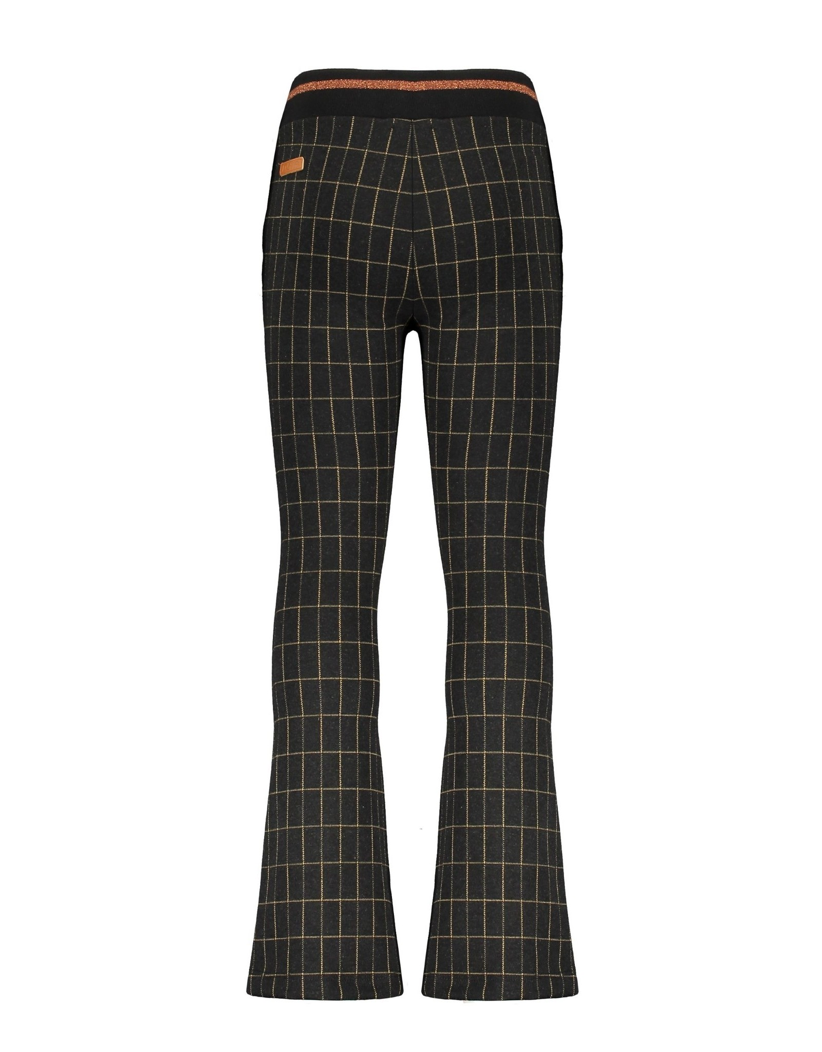 Nono NONO flared pants 5609 jet black