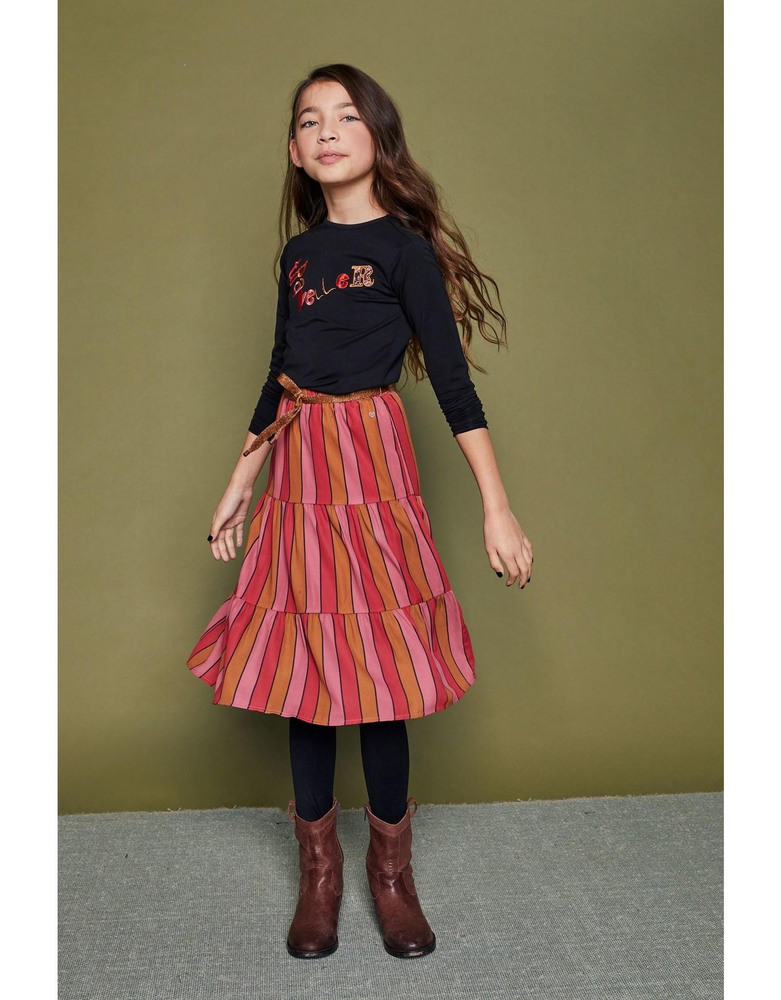 Nono NONO maxi skirt 5704 ruby