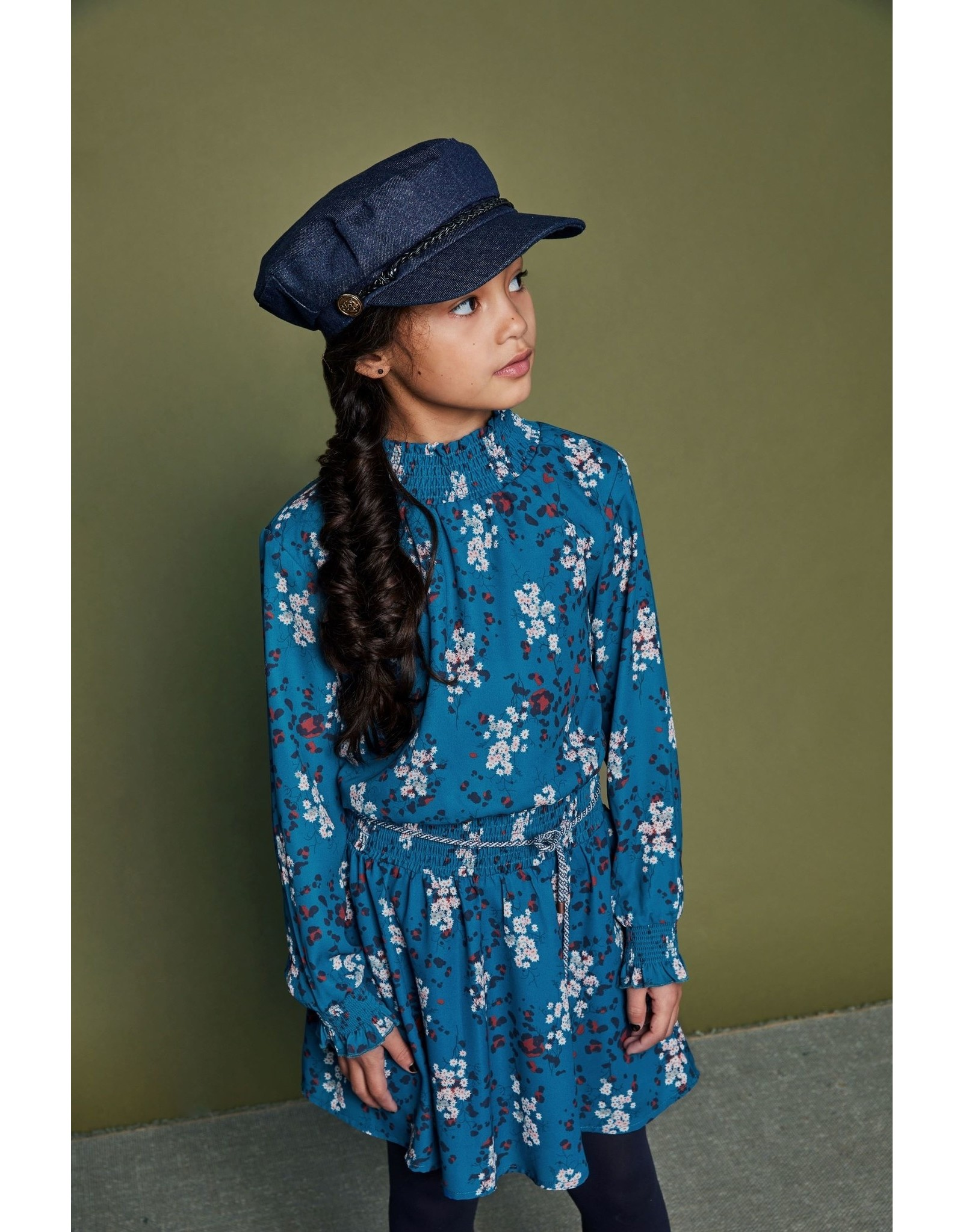 Nono NONO jurk 5804 swedish blue