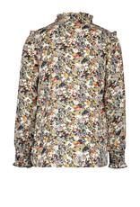 Like Flo Like Flo blouse 5130 graphic flower