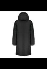 Nobell NoBell baggy long hooded jacket 3205 jet black