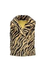 Moodstreet Moodstreet fake fur sleeveless jacket 5303 tiger