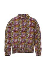 Quapi Quapi blouse Kate bordeaux flower