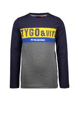 Tygo&Vito Tygo&Vito longsleeve 6426 navy