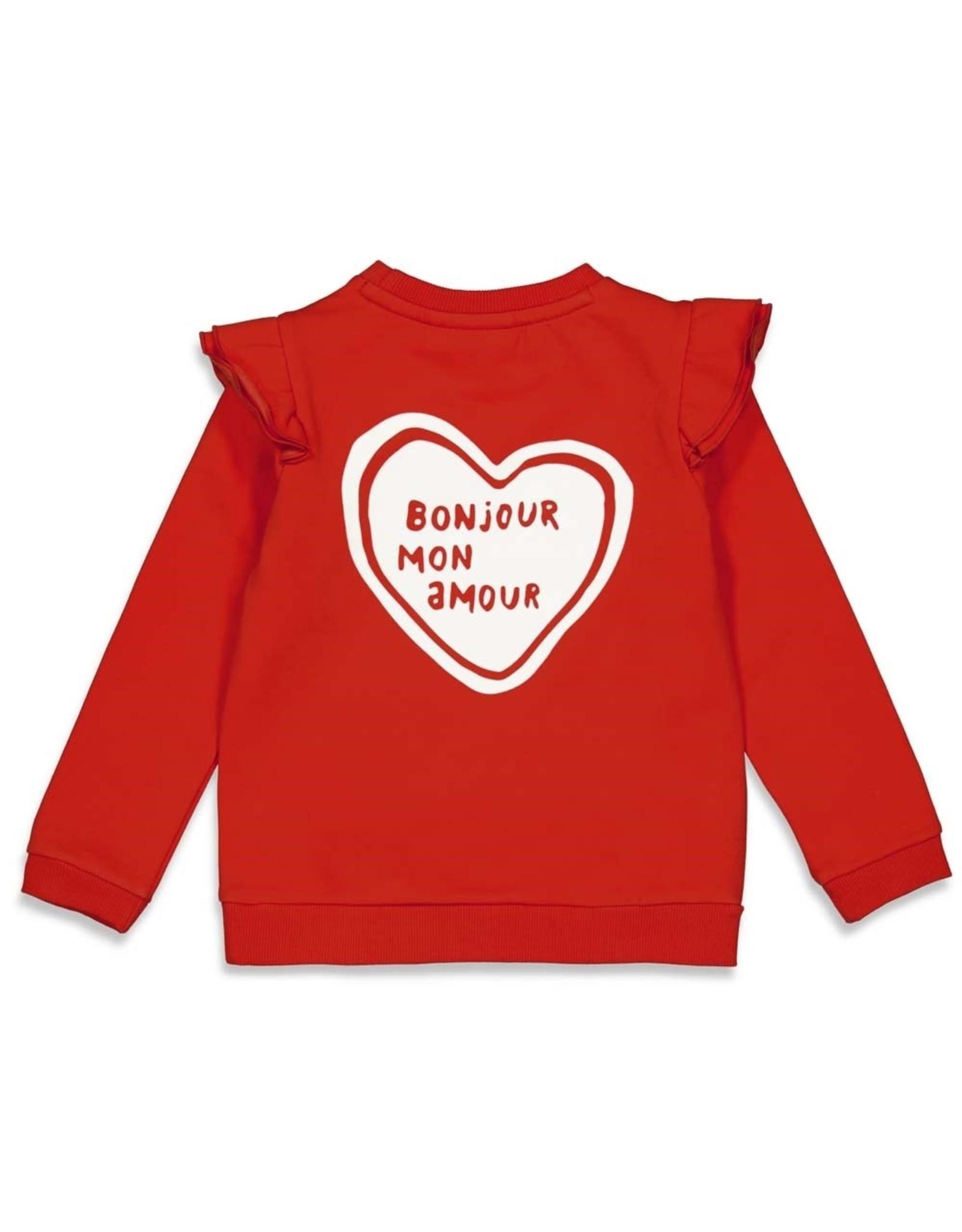 Jubel Jubel sweater rood Club Amour