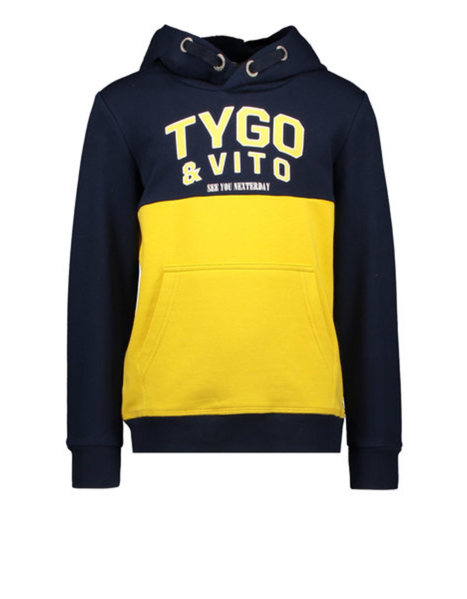 Tygo&Vito Tygo&Vito sweater 6329 navy