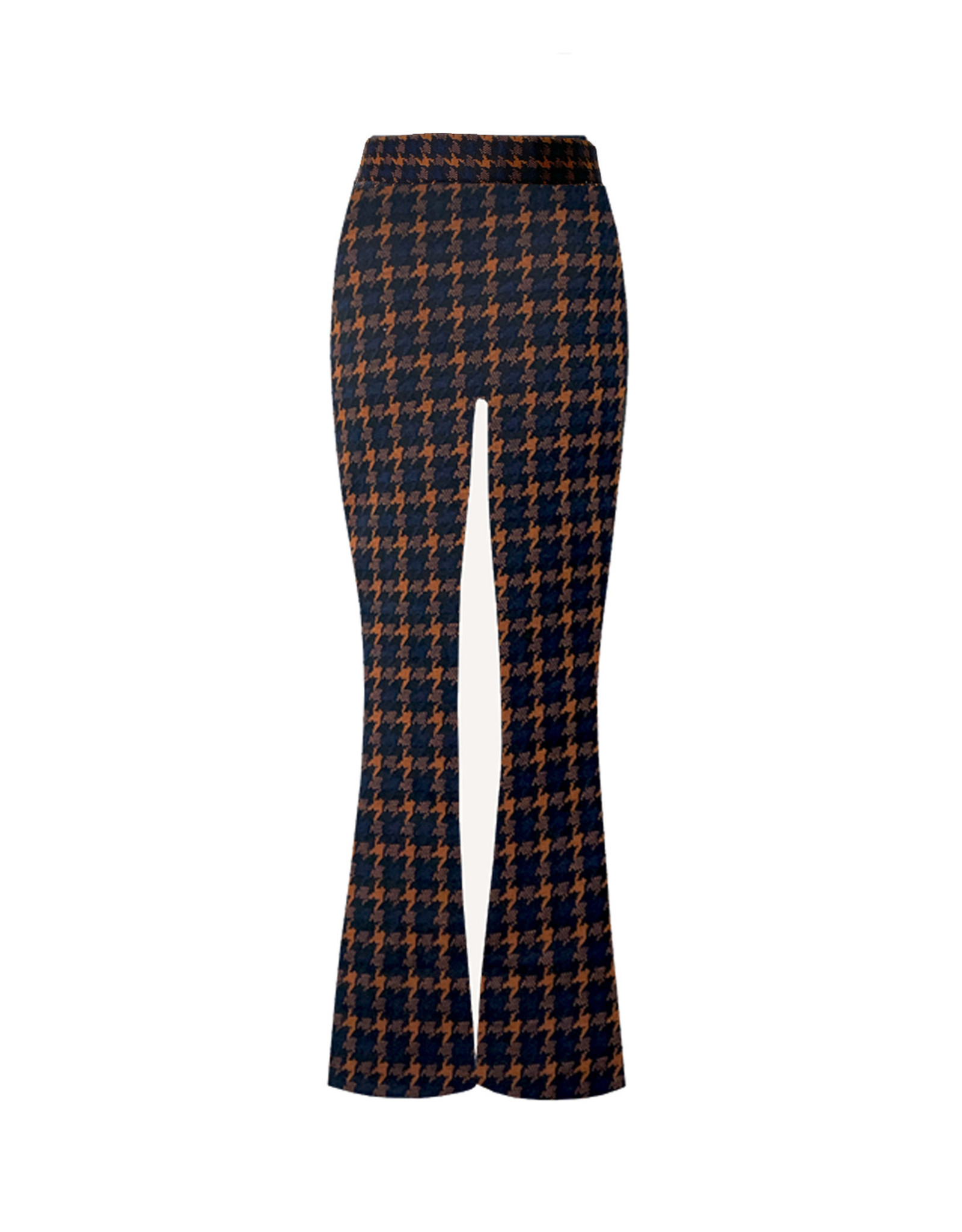 Topitm TOPitm flared pants Donna Rusty red/black