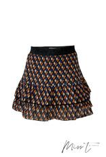 Topitm Miss T Mieke skirt animal aop