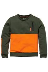 Quapi Quapi sweater Kenan green dark
