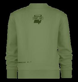 Raizzed Raizzed sweater POP-UP Nephi pale army