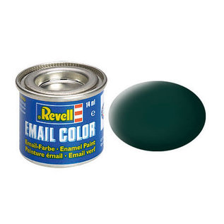 Revell  40 Enamel schwarzgrün, matt