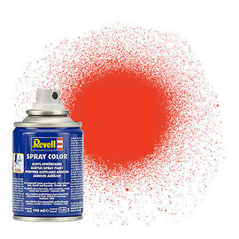 Revell Revell - Spray Color 25 leuchtorange - matt