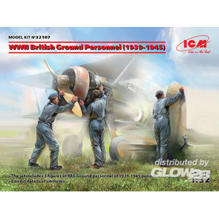 ICM WWII British / RAF Ground Personnel - 1:32