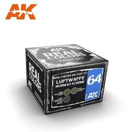 AK Interactive AK Real Color Set - Luftwaffe Norm83